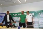 Футбол - Представяне на новият вратар на ПФК Лудогорец  Милан Борян 13.09.2014