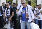 Футбол - фенове на Реал Мадрид пред хотел Хилтън 1.10.2014