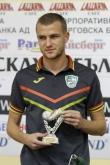 Футбол -  награждаване на Венцислав Христов за играч N1 на 8-и гръг - 02.10.2014
