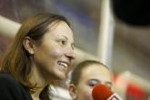 Спорт - Евгения Раданова откри благотворителния турнир по хокей на лед НСА - 04.10.2014