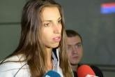 Волейбол - пристигане на националният отбор - Жени - 06.10.2014