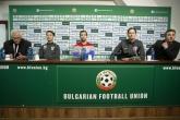 Футбол - Пресконференция на Нико Ковач и Дарио Сърна - 09.10.2014
