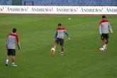 Футбол - тренировка на националния отбор на Хърватия - 09.10.2014