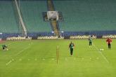 Футбол - тренировка на националния отбор на България - 09.10.2014