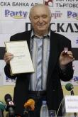 Футбол - Петър Жеков на 70-години - награда