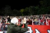 Футбол - агитката на ЦСКА поздрави Петър Жеков - 18.10.2014