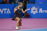 Тенис - WTA - Екатерина Макарова - Ализе Корне - 30.10.2014
