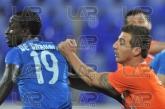 19 Basile De Carvalho /left/ and 33 Bodourov - Football game - Levski Sofia - Litex  ,05.10.12 - Sof