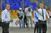 Ilian Iliev and Hristo Stoichkov - head coaches - Football game - Levski Sofia - Litex  ,05.10.12 -