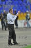 Ilian Iliev - head coach - Football game - Levski Sofia - Litex  ,05.10.12 - Sofia - Georgi Asparouh