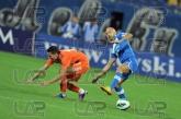 17 Georgi Milanov /left/ and 4 Stanislav Angelov - Football game - Levski Sofia - Litex  ,05.10.12 -