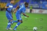 31 Marcio Ivanildo da Silva Marcinho and 32 Radoslav Tsonev - Football game - Levski Sofia - Litex