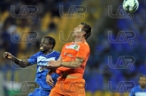 19 Basile De Carvalho and 33 Nikolay Bodourov - Football game - Levski Sofia - Litex  ,05.10.12 - So
