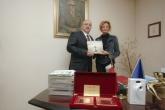 Спорт - Министър Красен Кралев среща с Стефка Костадинова -11.11.2014