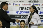 Бадминтон - връчване на награди след края на състезателния сезон - 11.11.2014