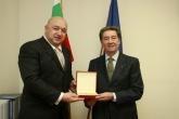 Министър Красен Кралев направи среща с президента Отавио Чинкуанта - 21.11.2014