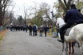 Футбол - шествие на агитката на ЦСКА  - 22.11.2014