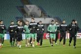 Футбол - Шампионска Лига - тренировка на ПФК Лудогорец - 25.11.2014
