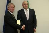 Спорт- министър Красен Кралев се срещна с БФ Модерен Петобой - 28.11.2014