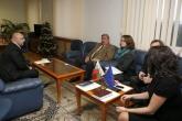 Спорт - Министър Красен Кралев се среща с  посланика на Руската федерация Юрий Исаков - 09.12.2014