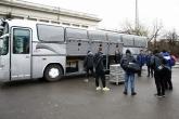Футбол - Отпътуване на националния отбор по футбол У17 за подготвителен лагер в Правец - 10.12.2014