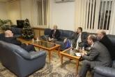 Спорт - Министър Красен Кралев посрещна президента Хансйорг Вирц  - 12.12.2014