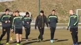 Футбол - първа тренировка на ПФК Ботев ПД - 12.01.2014