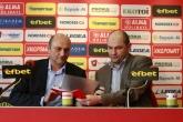 Футбол - Пресконференция на Александър Томов - 14.01.2014