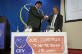 Волейбол - жребий за ЕП ЖЕНИ U18 - 20.01.2014