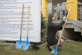 Спорт - Първа копка на образователно-спортен комплекс Лозенец - 26.01.2014