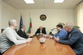 Спорт - Министър Красен Кралев се срещна с тръста