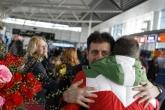 Спорт - Посрещане на българската делегация от Лихтенщайн - 30.01.2015