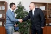 Спорт - Среща на  министър Красен Кралев с Боян Петров - 26.02.2015