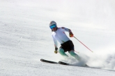 Ски - Линдзи Вон и Алберто Томба в Банско - 26.02.2015