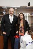ММС връчи спортна екипировка на Лиляна Георгиева - 10.03.2015