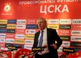 Футбол - ЦСКА пресконференция на Александър Томов - 26.03.2015