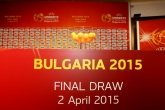 Футбол - Теглене на жребия за ЕВРО 2015/ Football - The draw for Euro 2015 - 02/04/2015