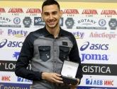 Футбол - Награждаване на Милен Гамаков (Ботев Пд) - футболист на месеца  - 07.04.2015