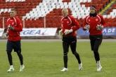 Футбол - тренировка ПФК ЦСКА - 08.04.2015