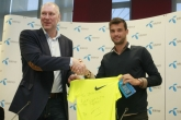 Тенис - пресконференция - Григор Димитров - 24.04.2015