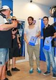 Футбол - Среща на Антoнио Аниете и Мигел  Бедоя във фенклуб на Левски - 06.05.2015