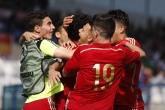 Футбол - Евро 2015 U17 - Група А - Испания - Австрия - 06.05.2015