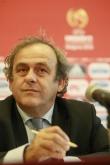 Футбол - Евро 2015 U17 - пресконференция Мишел Платини и Борислав Михайлов 22/05/2015