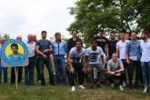 Футбол - Поднасяне на цветя по случай 101 години Левски