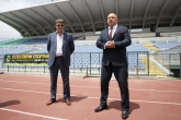 Министър Красен Кралев направи инспекция на стадион