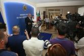 Министър Красен Кралев даде брифинг за решението в щангите - 17.06.2015