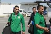 Футбол - пристигане на ПФК Берое след контролната среща - 03.07.2015