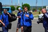 Футбол - футболистите на Динамо Минск пристигнаха на летище Варна 15.07.2015