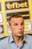 Футбол - Първа пресконференция на старши треньора на Ботев Пд Петър Пенчев - 17.09.2015