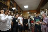 Футбол - футболисти и треньорският щаб на ЦСКА посетиха клубния музей - 06.08.2015
